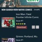 Comics for iPhone 4