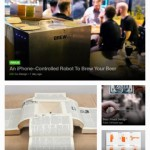 Feedly for iPad 2