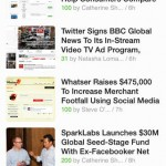 Feedly for iPhone 2