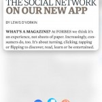 Forbes Magazine for iPad 3