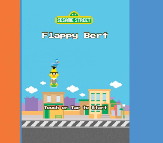 Flappy Bert Sesame Street