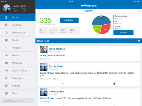 Calorie Counter & Diet Tracker By MyFitnessPal Is Now A Universal App For iOS