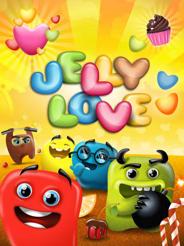 Sweet! Chillingo Takes On King's Candy Crush Saga With New Jelly Love Match-3 Game