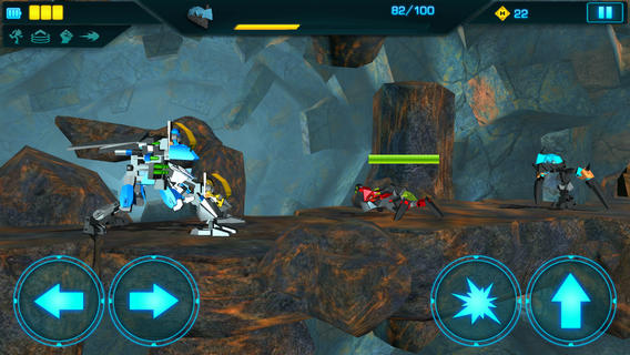 Overcome The Invasion From Below In This New Lego Hero Factory Game For iOS
