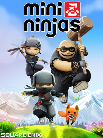 Square Enix's Mini Ninjas Is Apple's Free App Of The Week In The App Store