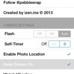 Pebble Snap for iPhone 5