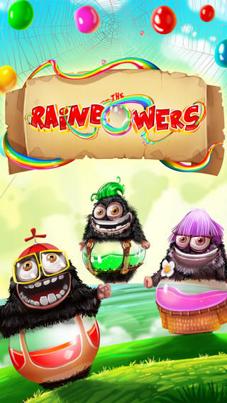 Help The Rainbowers Get Their Rainbow Fix In This New Colorful Match-3 Game