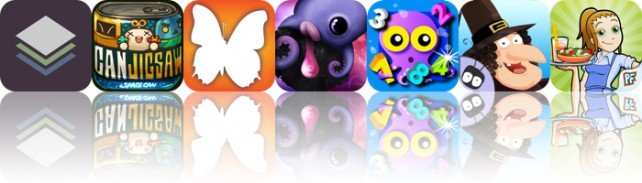 Todays Apps Gone Free: Stackables, Jigsaw Can, Audubon Butterflies And More