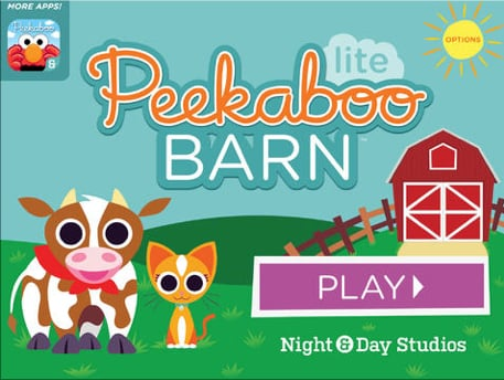 Childrens App Peekaboo Barn Celebrates Its Fifth Year In The App Store With A Big Update