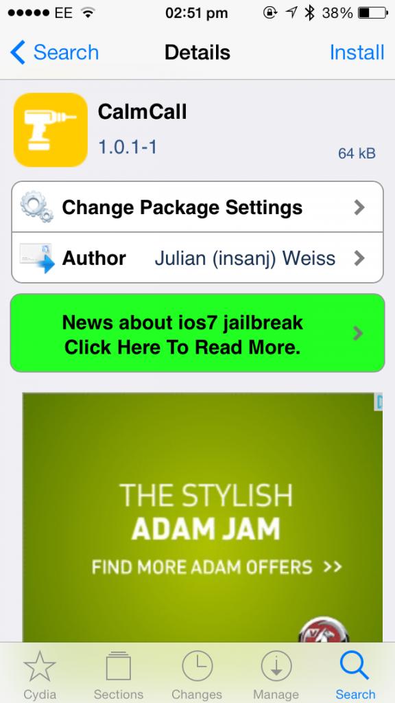 Cydia Tweak: CalmCall Brings A More Subdued Green In-Call Bar To Apple's iOS