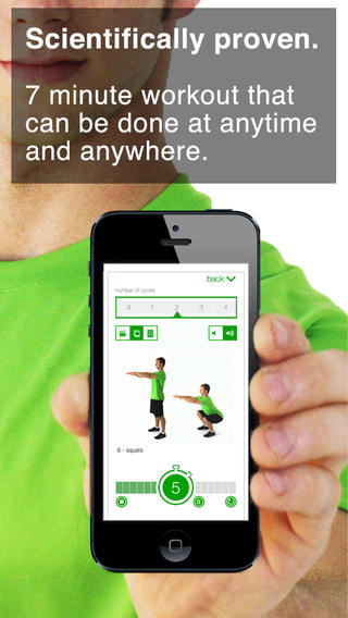 Updated 7 Minute Workout Challenge App Includes New Exercises And New Features