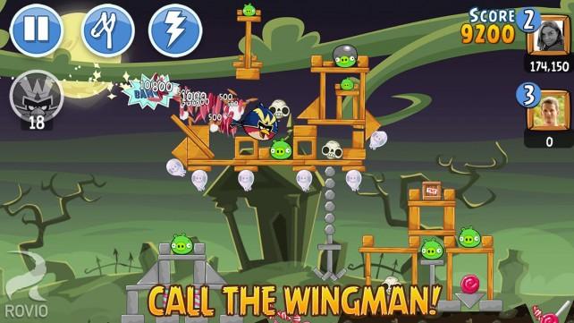The Wingman Vs. El Porkador: Rovio Launches New Angry Birds Friends Tournament