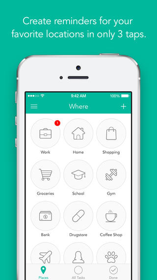 Sequel To Location-Based Reminder App Checkmark Checks In To App Store