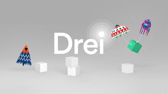 Collaborative Logic Game Etter Drei Updated With Universal Support For iPhone, iPod touch