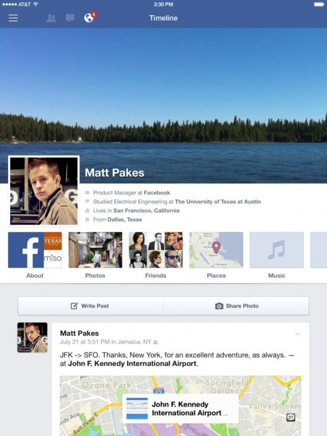 Facebook For iOS Updated To Version 8.0 With Several Improvements