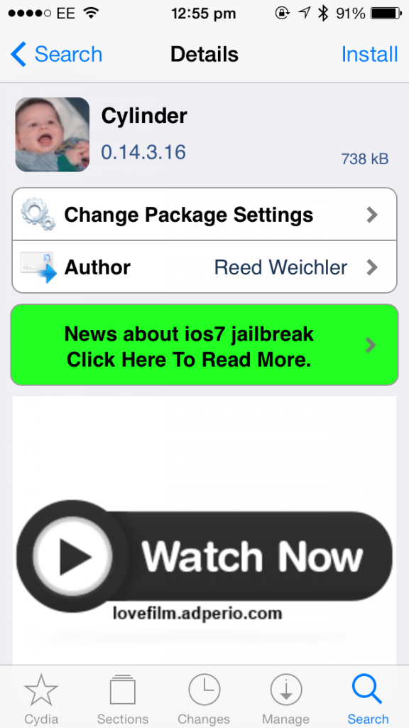 Cydia Tweak: Cylinder Brings DIY Barrel Animations To Apple's iOS