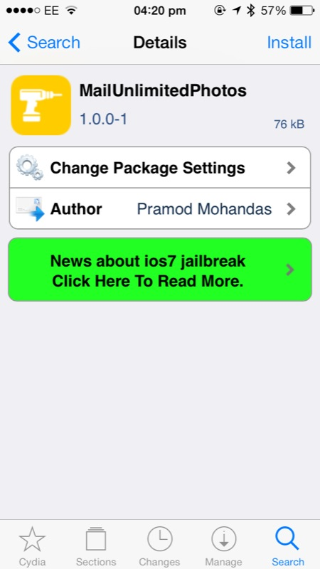 Cydia Tweak: MailUnlimitedPhotos Lifts The 5 Photo Email Limit On iOS