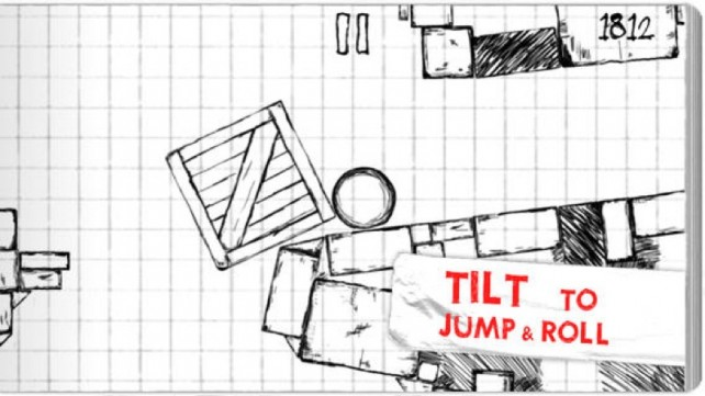 Keep On Rollin' In The Sketch-Art Action Game Roll Back Home