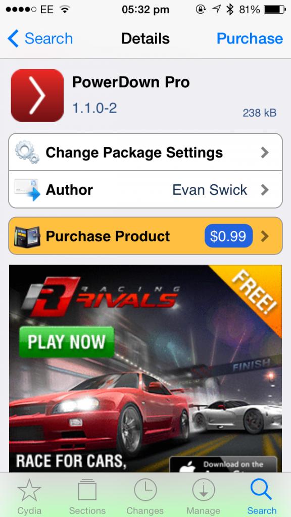 Cydia Tweak: PowerDown Pro Offers Enhanced Power Off Options For iPhone, iPad