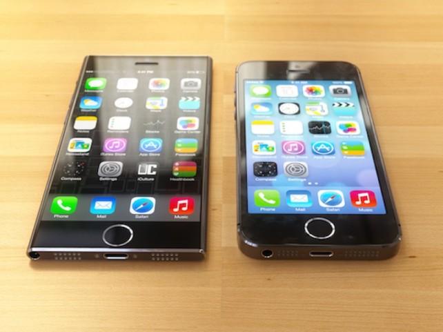 iPhone 6 - Koncept s designem většího a tenčího iPodu nano