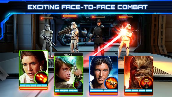 Disney Launches Star Wars: Assault Team, A CCG Set A Long Time Ago …