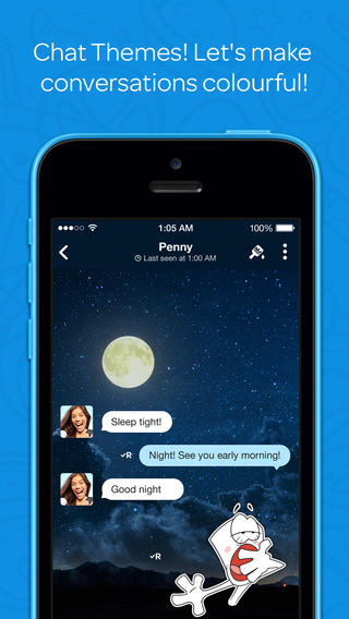 Hike Messenger Updated With iOS 7 Redesign, 2-Way Chat Themes And More