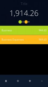 Luna Calculator - Simply Smart by Mindarin screenshot