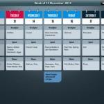 MealPlan for iPad 1
