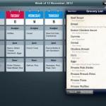 MealPlan for iPad 2