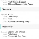 MealPlan for iPhone 1