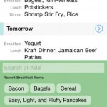 MealPlan for iPhone 2