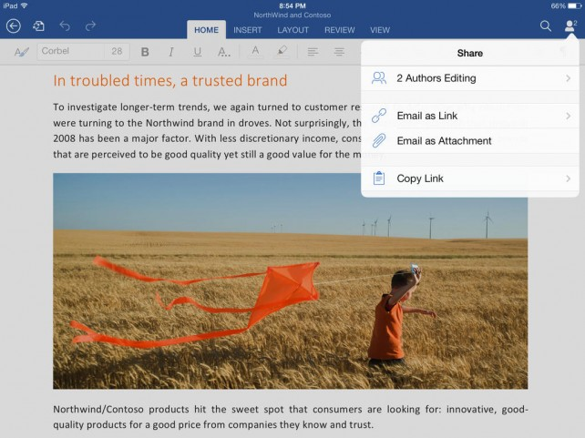 Microsoft To Update Office Apps For iPad With Support For Printing Functions
