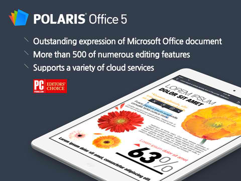 Polaris Office 5 Features New iOS 7 Design, Enhanced MS Office Support And More