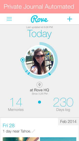Rove 2.0 Features Revamped Profile Design, New Memory Feed And Enhanced Sharing
