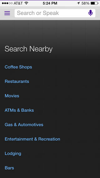 Yahoo Updates Official Search App With New Minimalist iOS 7-Inspired Design