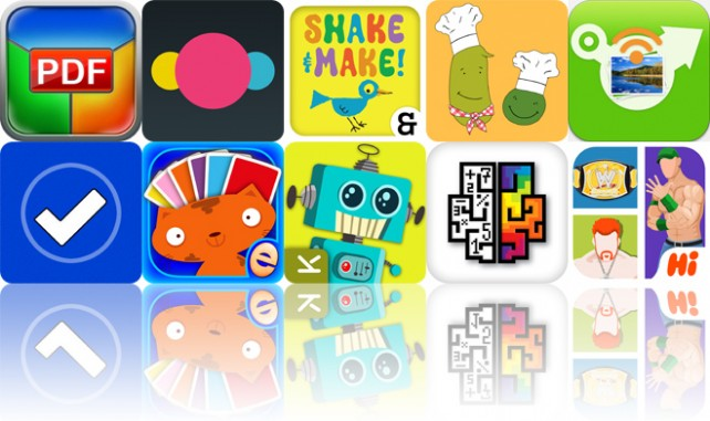 Todays Apps Gone Free: PDF Printer, Groops, Ed Emberleys Shake And Make And More