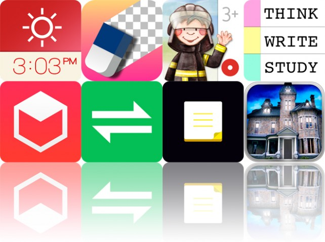 Todays Apps Gone Free: Red Clock, Background Eraser, Tiny Firefighters And More