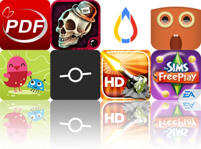 Todays Apps Gone Free: PDF Reader, Papa Sangre II, Gage And More