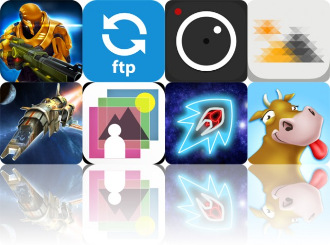 Todays Apps Gone Free: Neon Shadow, Easy FTP, ProCam 2 And More