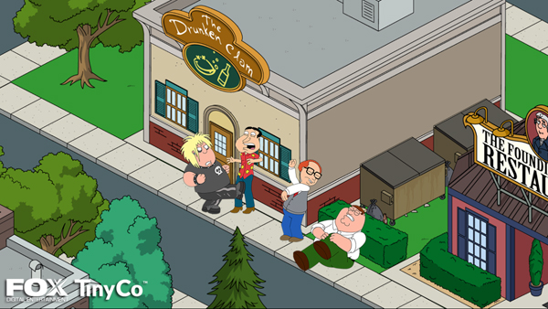Developer TinyCo Offers A First Look At The Family Guy Game