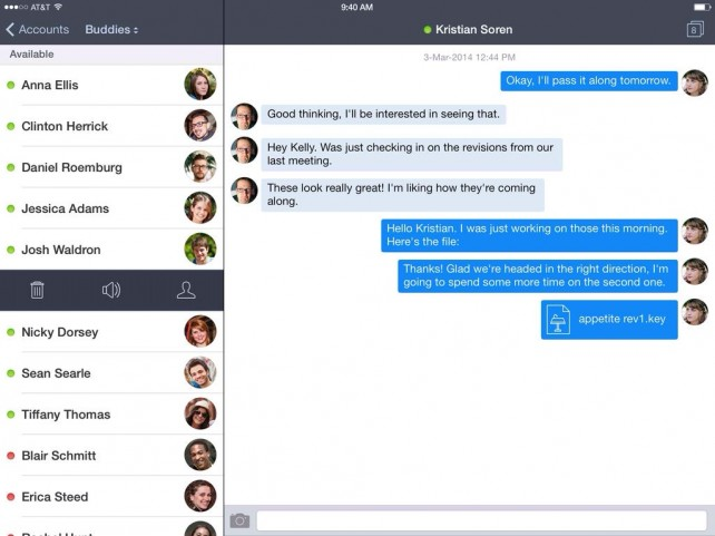 Verbs Instant Messaging App Goes 3.0 With New iOS 7 Design And New Features