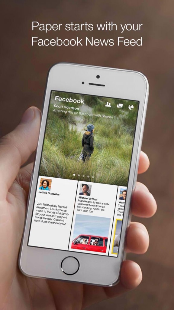Facebook's Paper Gains New Sharing Options And Other Improvements
