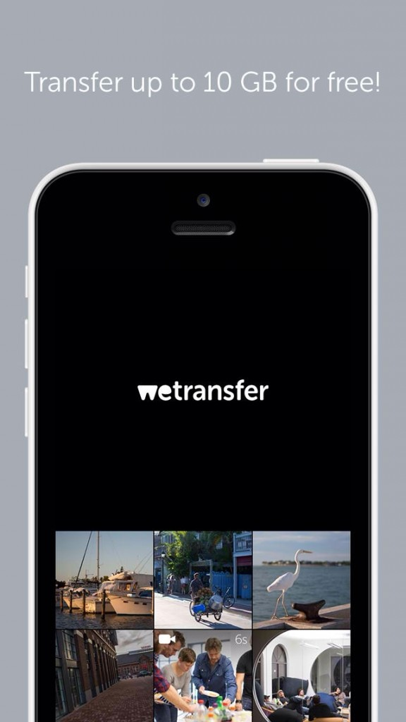 WeTransfer Lets You Simply Transfer Photos And Videos Of Up To 10GB On The Go
