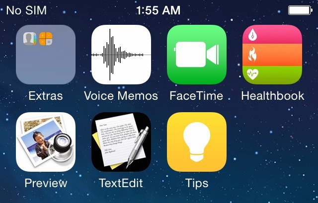 Leaked iOS 8 Screenshots Show New Icons For Healthbook, TextEdit, Preview