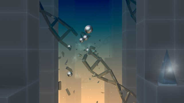 Channel Your Destructive Side In The Beautiful And Abstract World Of Smash Hit