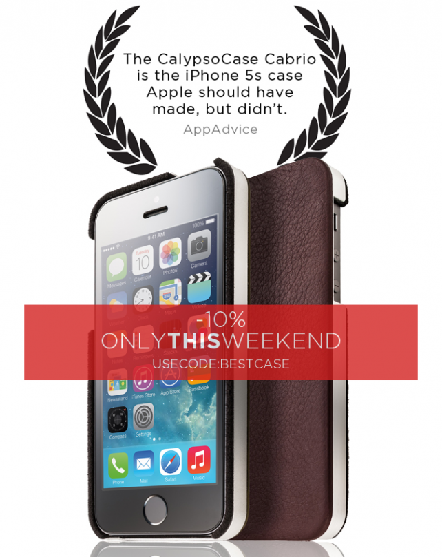 The Leather iPhone 5s Case Apple Should Have Made Is Now On Sale