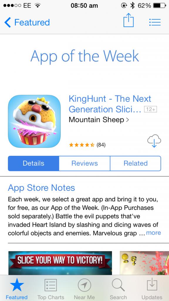 KingHunt Goes Free As Apple's Latest Free App Of The Week