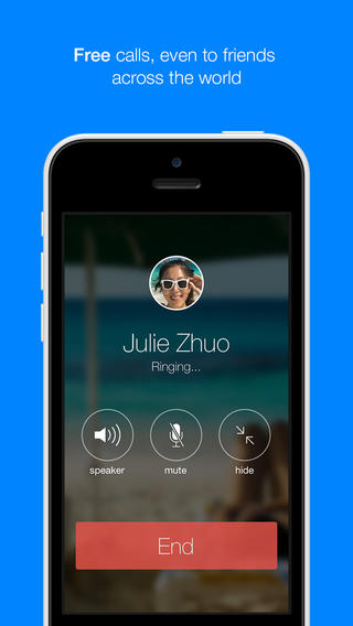 Facebook Brings Free VoIP Calling To Its iOS Messenger App