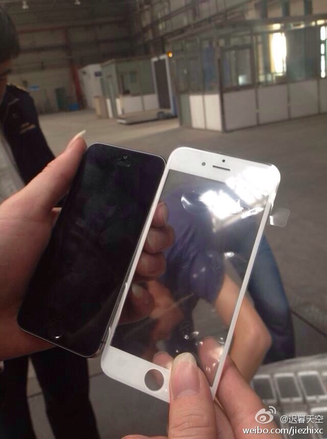 Could This Be The Front Panel For Apple's iPhone 6?