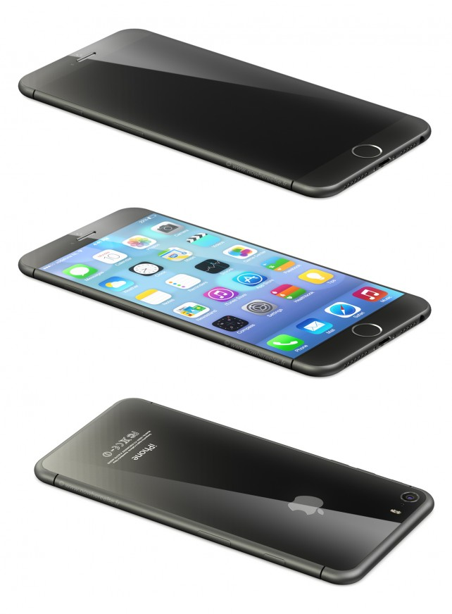 Could Apple's iPhone 6 Feature A Curved Display, All-Aluminum Rear Shell?